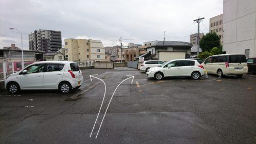 お客様用駐車スペースのご案内です③